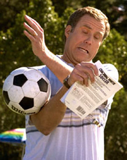 Will Ferrell the newbie soccer coach in Kicking & Screaming