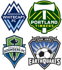 San Jose and the Pacific Northwest clubs brought NASL to the MLS