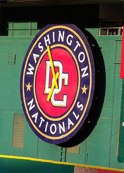 MLB's Washington Nationals even messed with the DC United clock at RFK