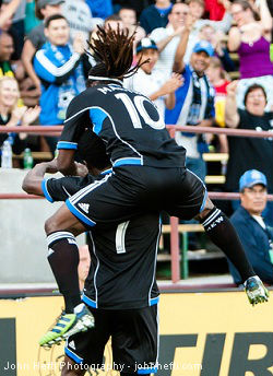 Cato, Martinez, San Jose Earthquakes, MLS - John Hefti Photography
