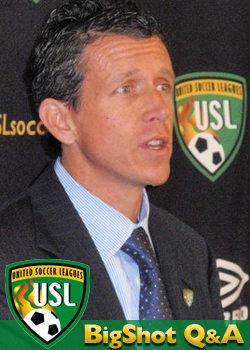 Tim Holt - President of the United Soccer Leagues (USL)